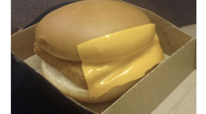 McDonald's sandwich
