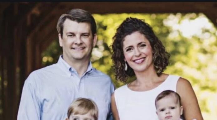 Luke Letlow and family