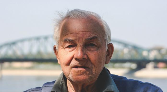 Concerned elderly man