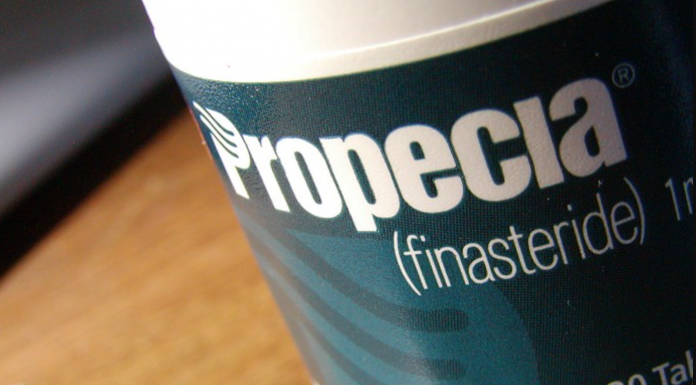 Propecia Bottle closeup