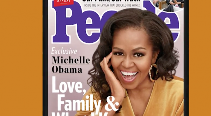 Michelle Obama on cover of PEOPLE magazine