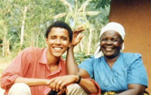 Barack and Sarah Obama