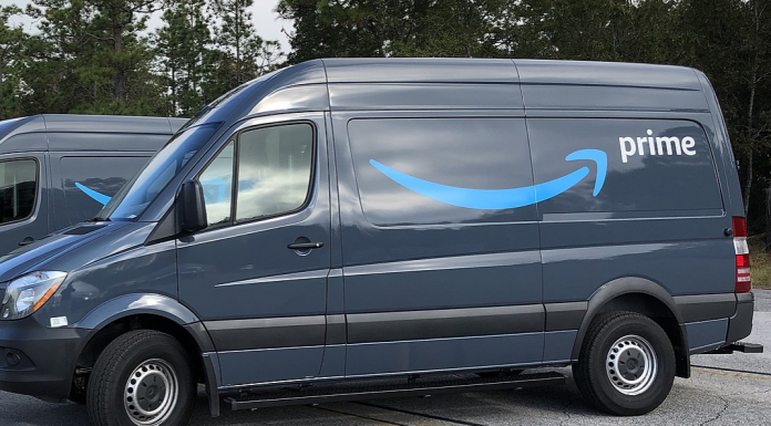 Amazon Prime Delivery Trucks