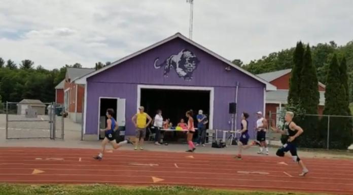 Pembroke Academy track team