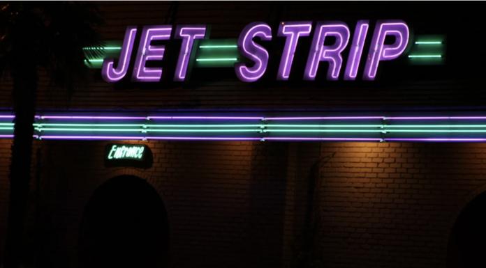 Neon sign,