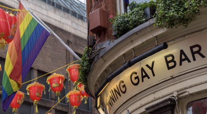File photo, gay bar